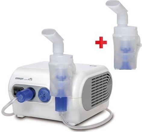 Inhalátor kompresorový OMRON C28P + druhá inhalační souprava