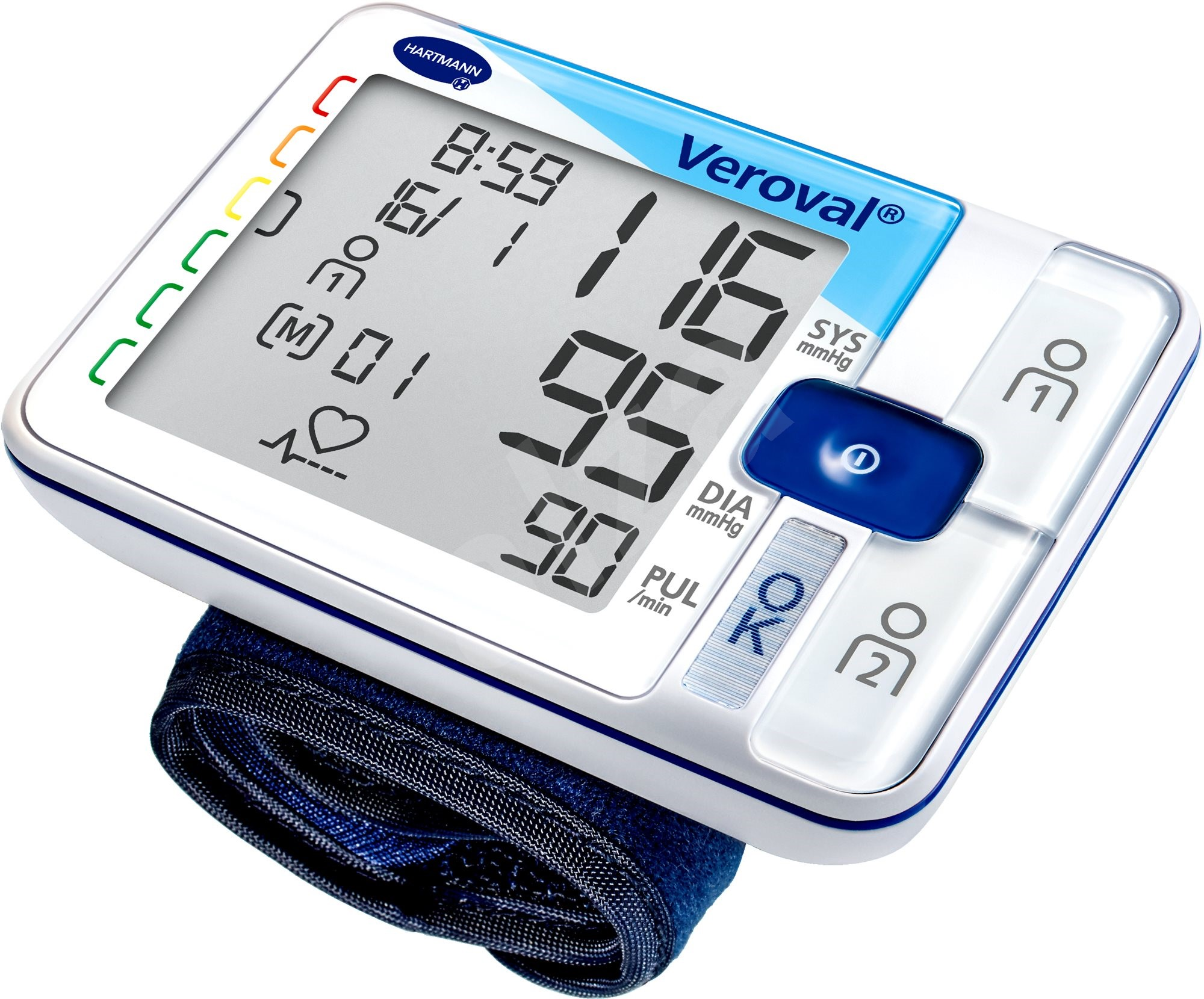 VEROVAL Zápěstní tlakoměr